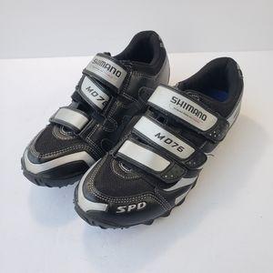 Shimano M076 SPD mountain bike shoes size 40
